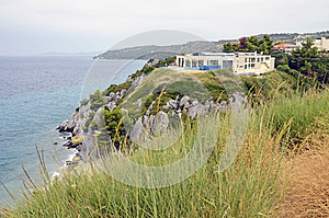 Hotel Sea Top Mountain Stock Images - Image: 25883904