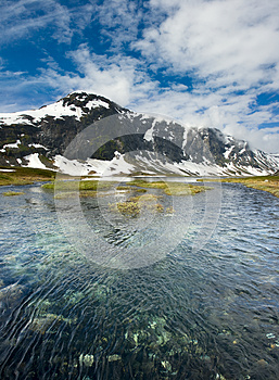 Norwegian Landscape Stock Images - Image: 25894644