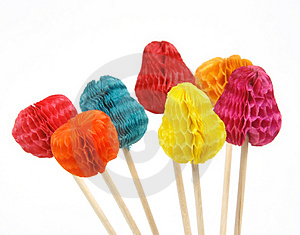 Party Sticks Royalty Free Stock Photo - Image: 2591605