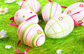 Easter egg painted Stock Photography