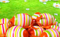 Easter egg painted Royalty Free Stock Photo