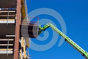 Boom Lift Royalty Free Stock Photo - Image: 25905615