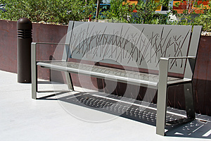 Park Bench Stock Images - Image: 25906434