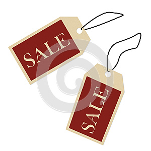 Sale Price Tags Stock Photography - Image: 25910232