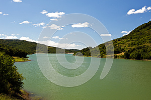 Dam Alento Stock Photo - Image: 25911330