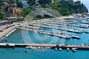 Agropoli Royalty Free Stock Images - Image: 25911419