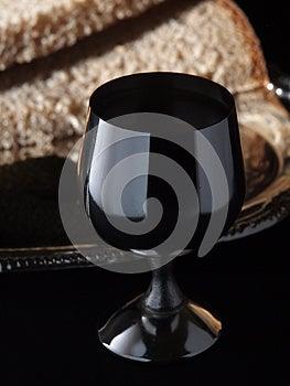 Iron Wine-glass Stock Photo - Image: 25916120