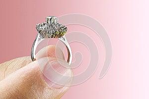 Wedding Ring Royalty Free Stock Image - Image: 25917146