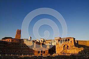 Rome Ruins Foro Di Traiano Stock Photo - Image: 25917450