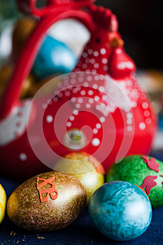 Easter Eggs Royalty Free Stock Images - Image: 25919189