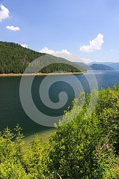 Vidra Mountain Lake Royalty Free Stock Image - Image: 25919216
