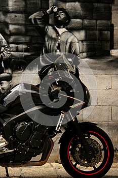 Sleek Motorcyle Royalty Free Stock Photos - Image: 25919708