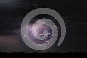 Loop Lightning Royalty Free Stock Photos - Image: 25924208