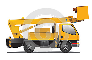 Autotower Yellow Stock Images - Image: 25925874