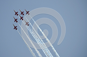 Air Show Royalty Free Stock Photography - Image: 25927527