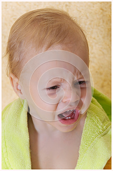 The Child Cries Royalty Free Stock Photography - Image: 25927877