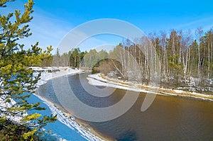 Spring In Siberia Stock Photo - Image: 25931690
