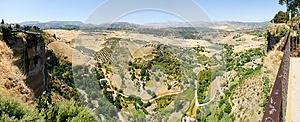 Tajo In Ronda In Malaga, Andal Royalty Free Stock Images - Image: 25937579