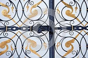 Ornamental Iron Gate Royalty Free Stock Photos - Image: 25943688