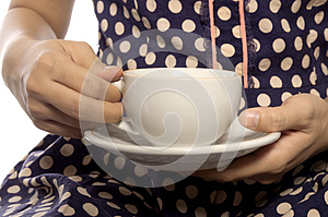 Holding Cup Of Coffee Royalty Free Stock Photography - Image: 25947167