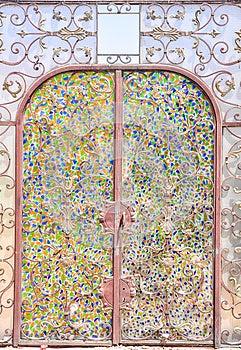 Iron Gate Stock Image - Image: 25951291