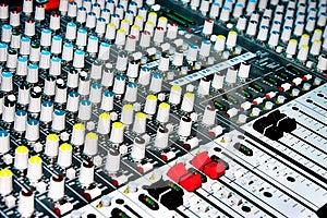 Sound Mixer Stock Photo - Image: 25962670