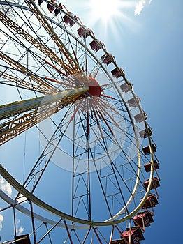 Ferris Wheel Royalty Free Stock Photos - Image: 25968938