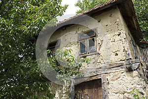 Very Old Mud Bosnian House Royalty Free Stock Photo - Image: 25976115
