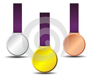 Medals  Royalty Free Stock Image - Image: 25978766