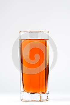 A Glass With A Red Drink Royalty Free Stock Images - Image: 25980139