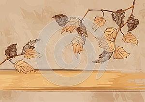 Autumn Grunge Background Royalty Free Stock Photo - Image: 25983745