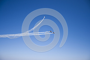 Airplanes Show Royalty Free Stock Photos - Image: 25985338