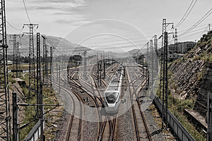 High Speed Train Stock Images - Image: 25986494