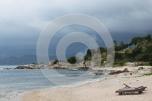 Tropical Beach Royalty Free Stock Images - Image: 25988349
