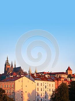 Prague At Dawn Stock Photo - Image: 25990970