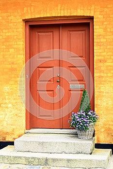Wooden Door Stock Photos - Image: 25991803