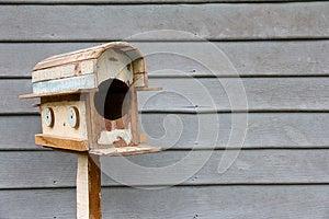 Wooden Mailbox Stock Image - Image: 25997491