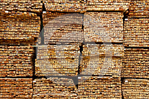 Stack Of Timber Wood Royalty Free Stock Image - Image: 25997556