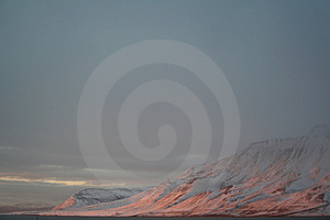 Isfjord, Spitzbergen Stock Photography