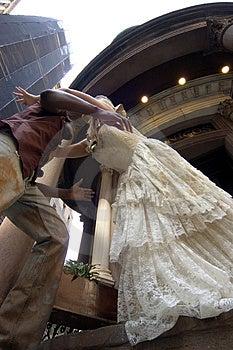 Runaway Bride Free Stock Photography
