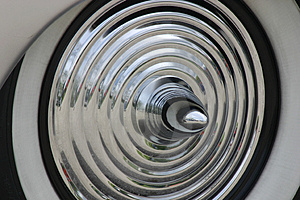Hubcap Of Car Stock Photo