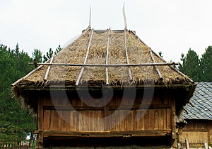 Wooden Shed Free Stock Image