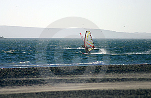 Windsurfing 3 Free Stock Images