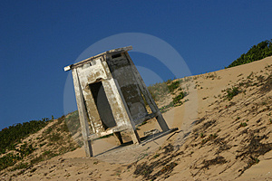 Lifeguard Shelter Free Stock Image