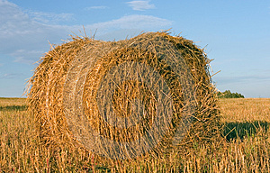 Hayrick, Haystack Stock Photography