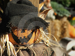Scarecrow Portrait Free Stock Photo