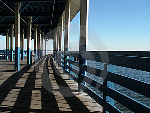 Old Pier Free Stock Image