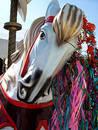 Carrousel horse Free Stock Image