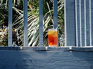 Iced Tea On Vacation Stock Images - Image: 2600314