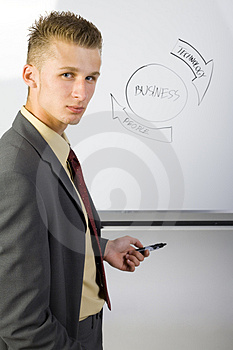I'm the boss Royalty Free Stock Photo